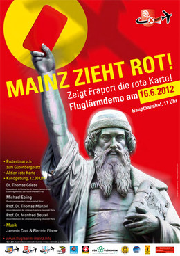 Plakat zur Großdemonstration am 16.06. in Mainz downloaden