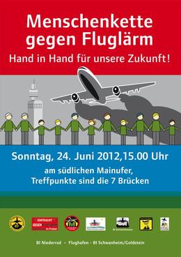 Download Plakat für Demo Menschenkette